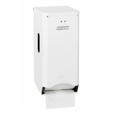 Mediclinics toiletrolhouder (2 rollen) wit PR2784