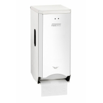 Mediclinics toiletrolhouder (2 rollen) RVS hoogglans PR2784C