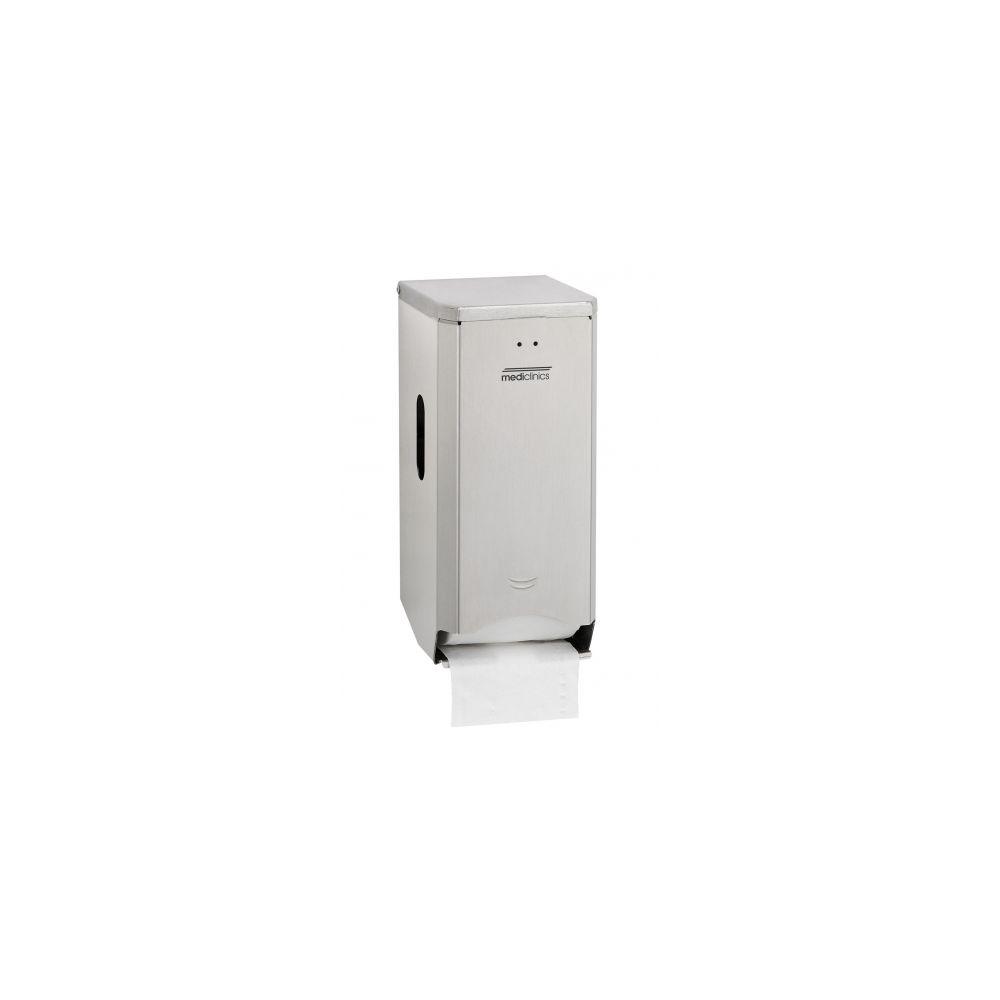 Mediclinics toiletrolhouder (2 rollen) RVS PR2784