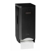Mediclinics toiletrolhouder (2 rollen) zwart PR2784B