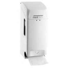 Mediclinics toiletrolhouder (2 rollen) wit PRO784