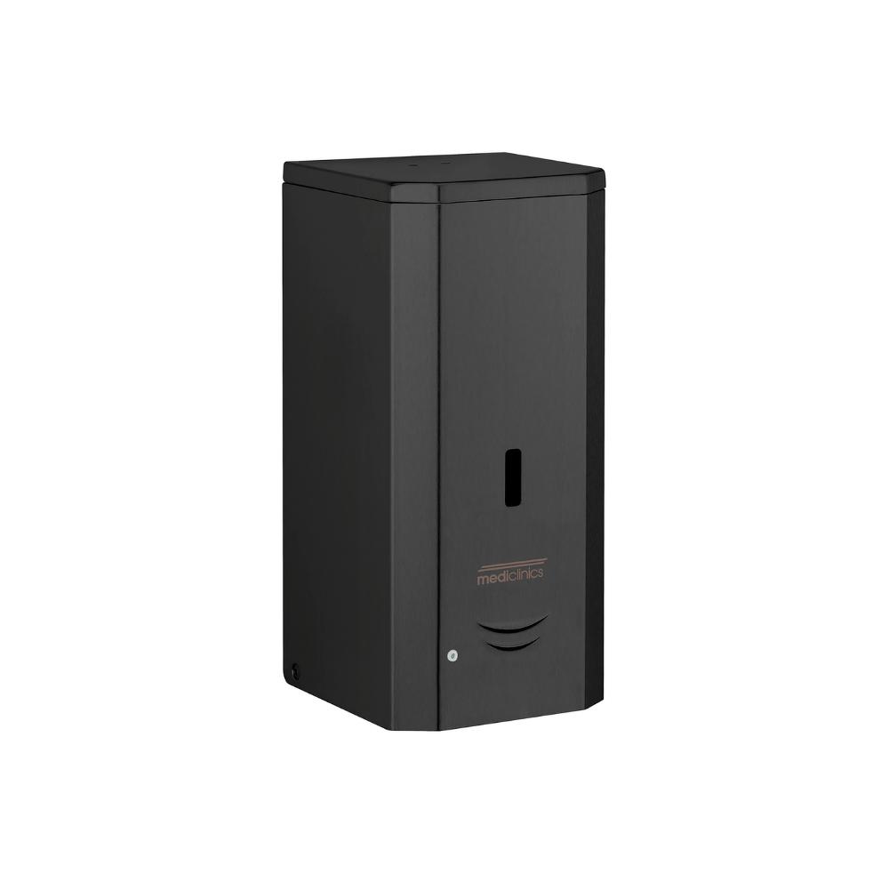 Mediclinics foamzeepdispenser automatisch RVS-zwart 1000ml DJ0037AB