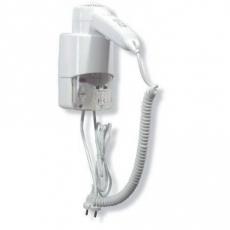 Mediclinics wandhaardroger met pushbutton wit SC0030