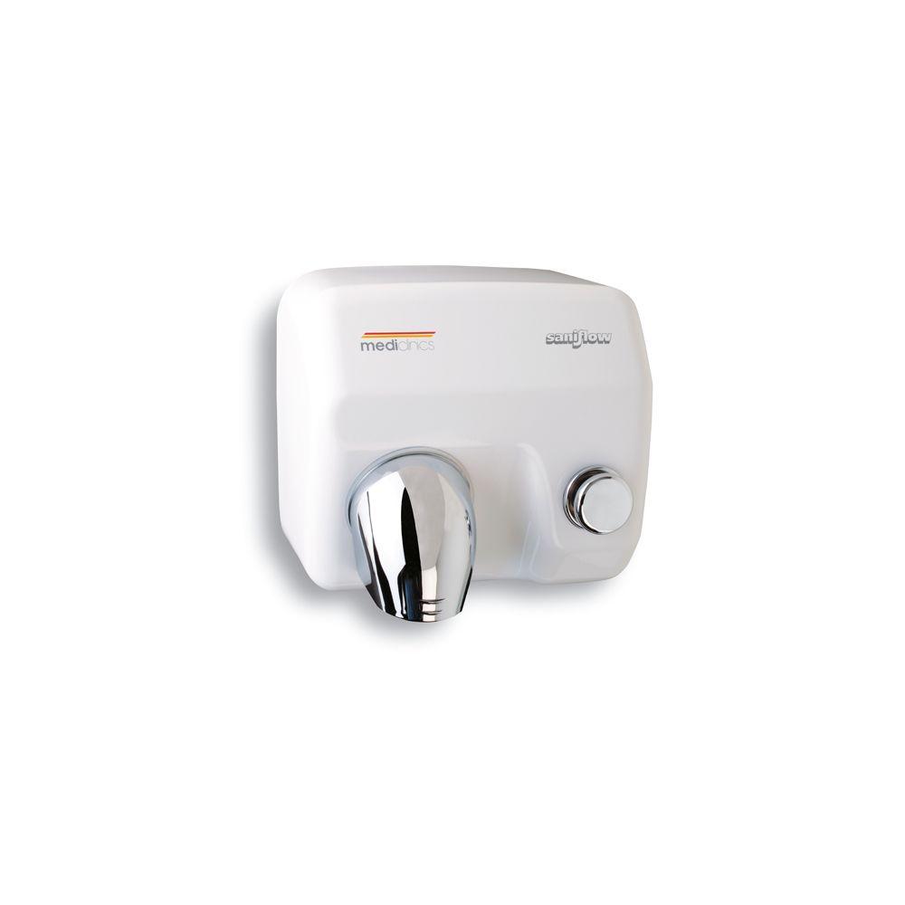 Mediclinics handendroger drukknop Saniflow E05
